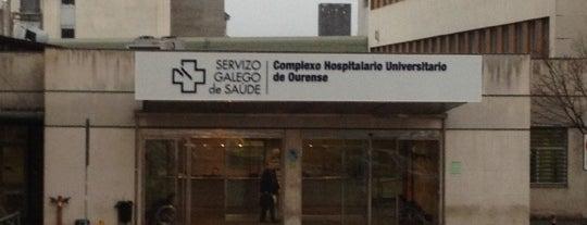 Complexo Hospitalario Universitario de Ourense (CHOU) is one of Best of Ourense ❤.