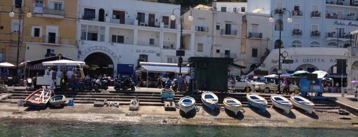 Porto Turistico di Capri is one of Amalfi Coast, Italy.