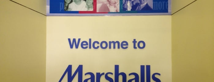 Marshalls is one of Places tried: recommend.