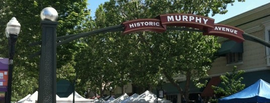 Historic Murphy Avenue is one of CA Bay Area.