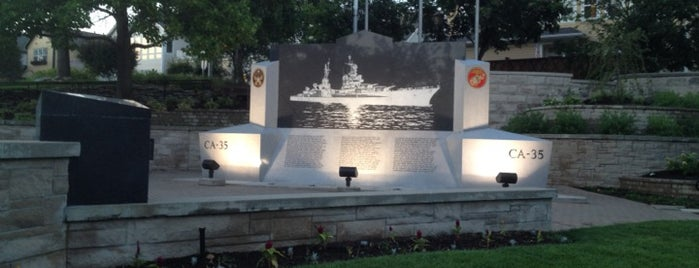 USS Indianapolis Memorial is one of Downtown Indianapolis Memorials.