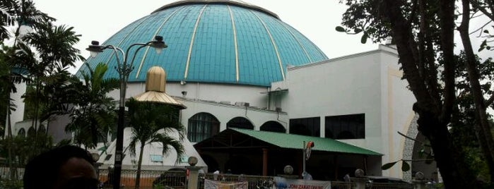Masjid Bukit Aman is one of masjid.