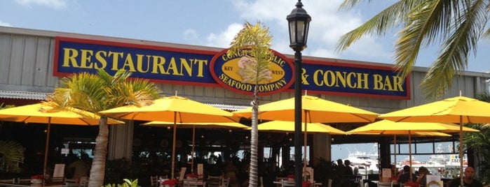 Conch Republic Seafood Company is one of The 15 Best Places for People Watching in Key West.