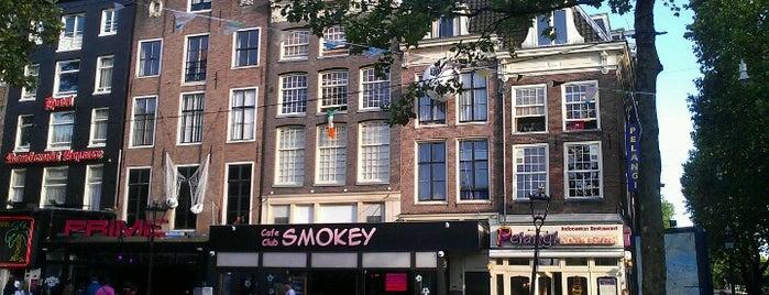 Rembrandtplein is one of ท่องเที่ยว Amsterdam.