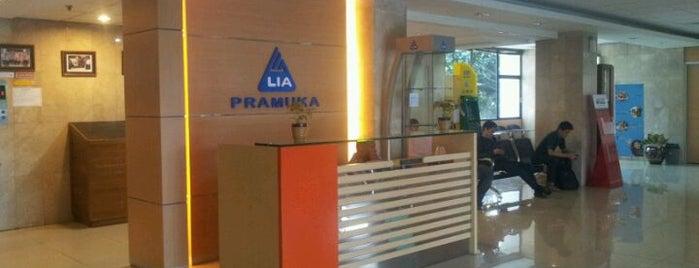 LBPP LIA Pramuka is one of Bookworm Bender Badge.