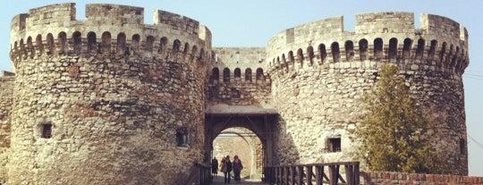 Belgrade Fortress Kalemegdan is one of Belgrad.