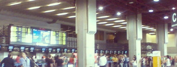 Check-in Pluna is one of Aeroporto de Guarulhos (GRU Airport).