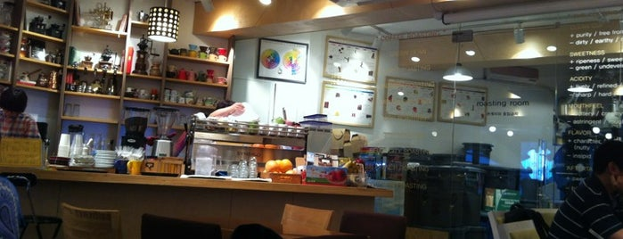 Beliefcoffee roasters is one of Seoul_Cafe.