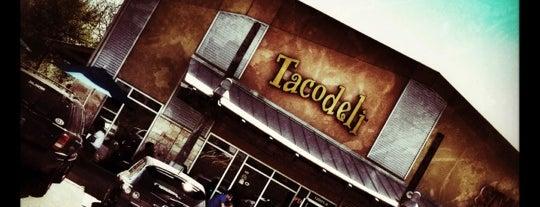 Tacodeli is one of Vegan Breakfast Tacos.
