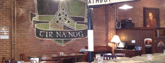 Tír na nÓg Irish Pub is one of Raleigh Favorites.