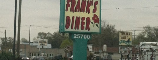 Frank's Diner is one of great eats.