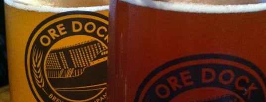 Ore Dock Brewing Company is one of Michigan Breweries.