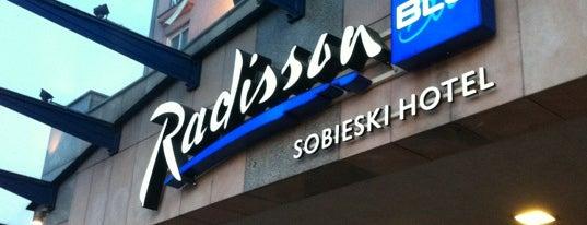 Radisson Blu Sobieski Hotel is one of Szkolenia z Inspiros.