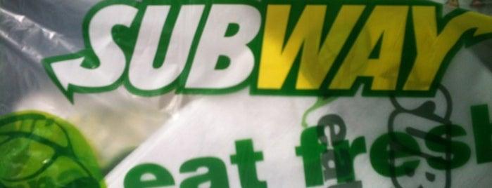 Subway is one of Mocksville.