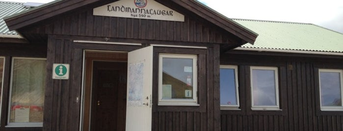 Landmannalaugar Hut is one of Iceland Grand Tour.