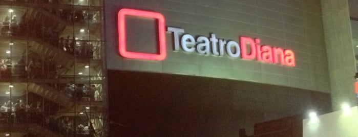 Teatro Diana is one of Show Places @ GDL.