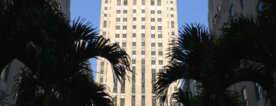 Rockefeller Center is one of New York for the 1st time !.