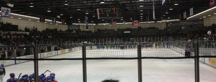 Schneider Arena is one of 2012-13 Merrimack College Hockey Road Trips.