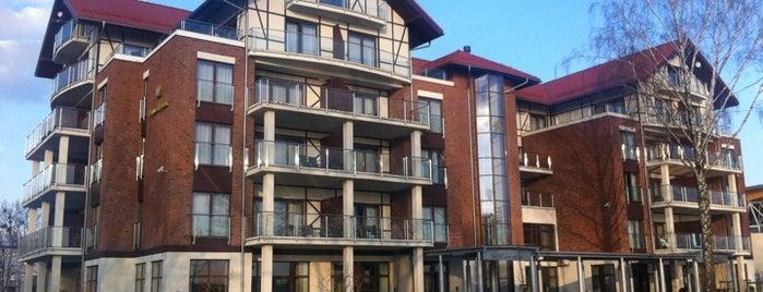 Hotel Willa Port is one of Szkolenia z Inspiros.