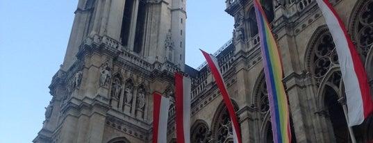 Wiener Rathaus is one of StorefrontSticker #4sqCities: Vienna.
