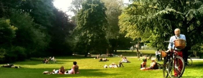Stadspark is one of Antwerpen #4sqCities.