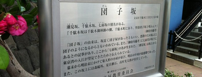 団子坂 is one of 坂道.