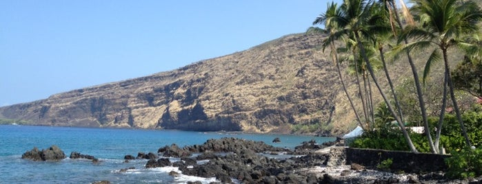 Kealakekua Bay State Historical Park is one of HI spots.