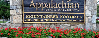 Appalachian State University is one of NCAA Division I FBS Football Schools.