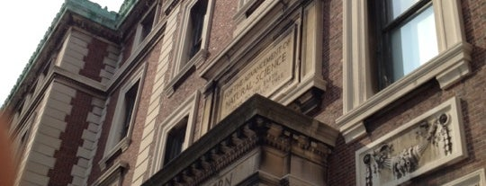Schermerhorn Hall - Columbia University is one of life of learning.