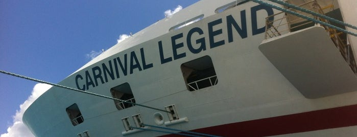 Carnival Legend is one of Faves.