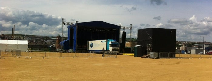 Ebrington Square is one of 36 Hours in...Londonderry.