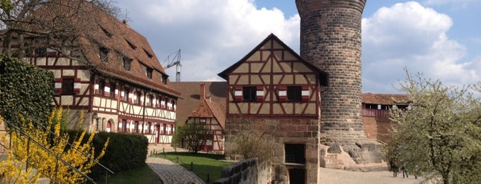 Kaiserburg is one of Nuremberg's favourite places.