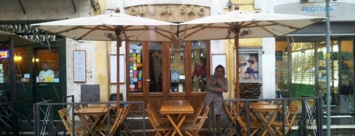 Cul de Sac is one of ristoranti Roma.