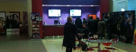 Кронверк Синема is one of Московские кинотеатры | Moscow Cinema.