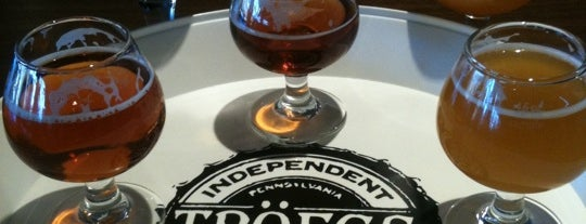 Tröegs Brewing Company is one of Breweries to Visit.