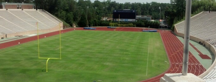 Brooks Field at Wallace Wade Stadium is one of Orientation Week Locations.