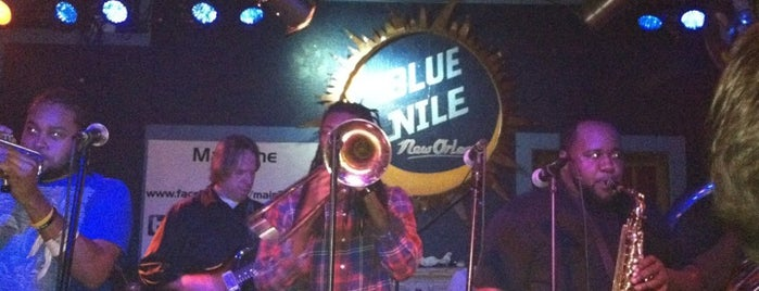 Blue Nile is one of New Orleans To-Do List.