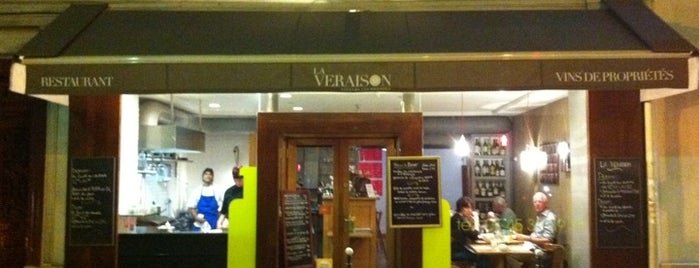 La Véraison is one of Paris - Romantic Meal.