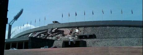 Estadio Olímpico Universitario is one of Mis lugares en México DF.