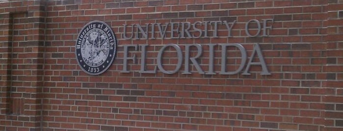 University of Florida is one of College Love - Which will we visit Fall 2012.