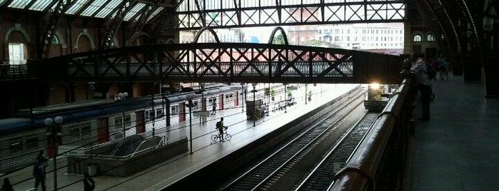 Estação Luz (CPTM) is one of SP.