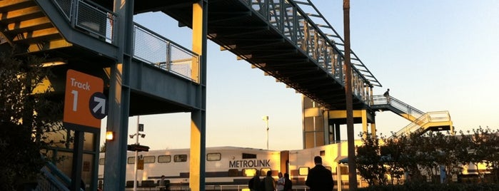 Amtrak and Metrolink Irvine Station is one of public transportation bookmarks.