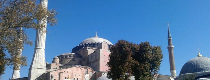 Hagia Sophia is one of Places of interest in Istanbul.