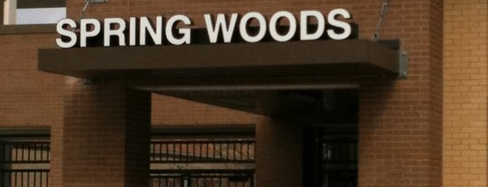 Spring Woods High School is one of Been There Done That!.