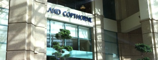 Grand Copthorne Waterfront Hotel is one of Airports & Hotels.