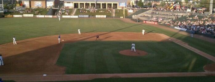 CommunityAmerica Ballpark is one of KC Sports Venues.