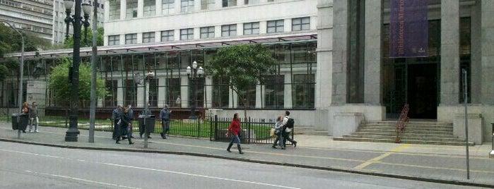 Biblioteca Mário de Andrade is one of em Sampa.