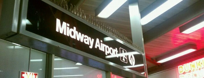 Aéroport international Midway de Chicago (MDW) is one of Airports - worldwide.