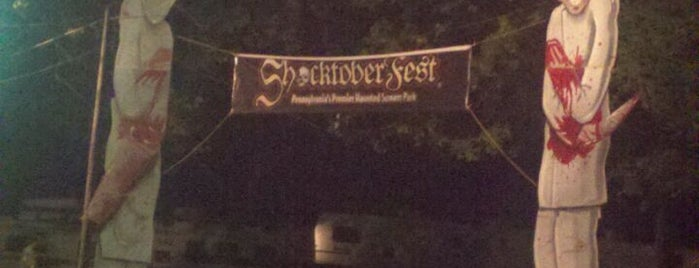Shocktoberfest is one of Best Haunts and Scares-Halloween Part2.