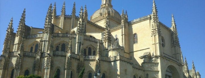 Catedral de Segovia is one of Catedrales de España / Cathedrals of Spain.